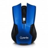 Mouse Gamer Sem Fio Quanta QTMSW1001 USB de Até 1.200DPI - Azul