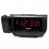 Rádio Relógio Ogio Quanta QTRAR1000 com Projetor - Preto