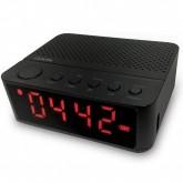 Rádio Relógio Ogio Quanta QTRBT050 5W com Bluetooth/FM/Usb/MicroSD 1.200 Mah - Preto