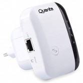 Repetidor de Sinal Wi-Fi Quanta QTRSW52 de 300MBPS - Branco