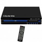 Reprodutor de DVD Quanta QTRDH2000 com Sistema de Áudio 2.1/HDMI Bivolt - Preto