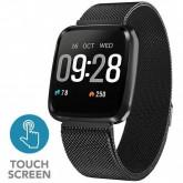 Smartwatch 4Life Neofit 3 para Atividades Físicas com Bluetooth Pulseira Estilo Milanês - Preto