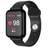Smartwatch B57 para Atividades Físicas com Bluetooth - Preto
