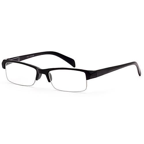 70cd7dbc5 Óculos De Grau Italy Design Sp51956 Unissex, Acetato, +3.25 - Preto ...