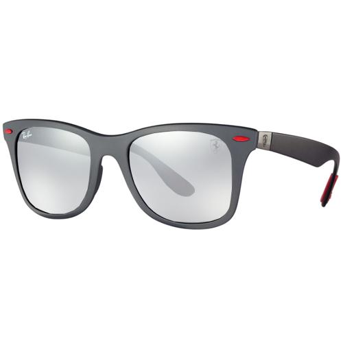 1a6917d07e Óculos De Sol Ray-ban Ferrari Rb4195m F602/9a, Masculino, Tamanho 52 ...