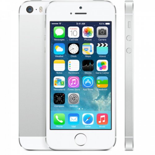Celular Apple iPhone 5S 16GB Silver A1457 Homologado Anatel RB - Sem Garantia