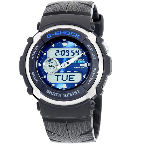 eef838cd090 ... Victoria Store código 299121. Relógio Analógico Digital Casio G-Shock  G-300-2AVHDR Masculino - Preto
