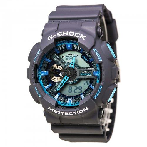 2ad9ae27193 ... Victoria Store código 166147. Relógio Casio Masculino Preto GA110TS-8A2