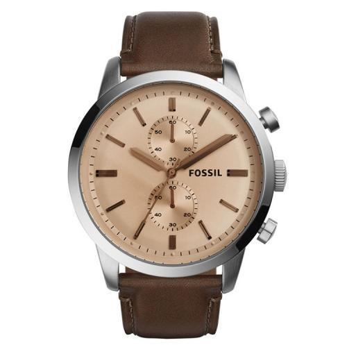 fad7261c4db Relógio Fossil Masculino Pulseira Couro Marrom Fs5156 na Victoria ...