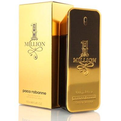 perfume paco rabanne one million masculino 100ml. Black Bedroom Furniture Sets. Home Design Ideas