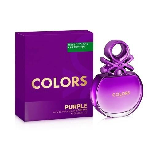 67611bc186f Perfume Benetton Colors de Benetton Purple Feminino 80ML ...