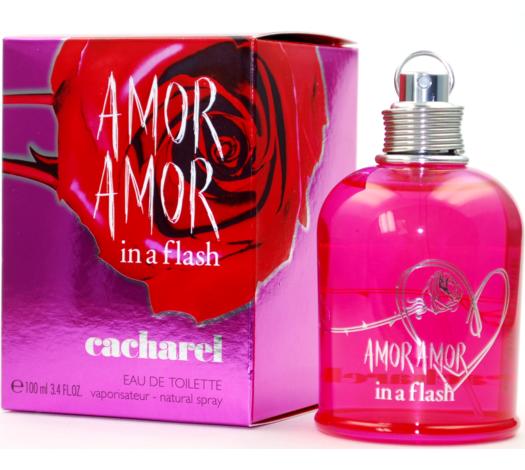 060e65a84 Perfume Cacharel Amor Amor in a Flash Feminino 100ML - LojasParaguai ...