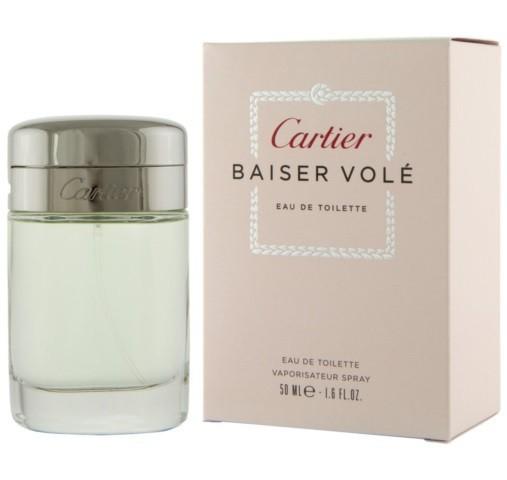 451a0b5fc0e Perfume Cartier Baiser Volé EDT Feminino 50ML - LojasParaguai.com.br