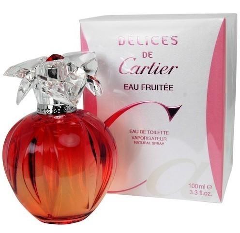 cb3f2b503be Perfume Cartier Delices Eau Fruitee Feminino 100ML - LojasParaguai ...