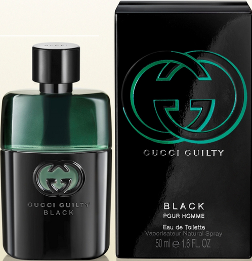 238a0c75b Perfume Gucci Guilty Black Masculino 50ML - LojasParaguai.com.br