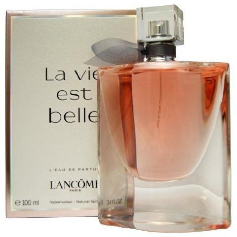 perfume lanc me la vie est belle feminino 100ml. Black Bedroom Furniture Sets. Home Design Ideas