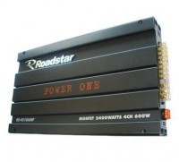 Amplificador / Módulo para Som Automotivo Roadstar Power One RS-4510 2400W