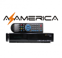 Receptor digital Az-America S922 HD no Paraguai