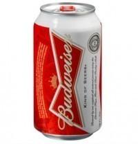 Cerveja Budweiser Lata 350ML no Paraguai