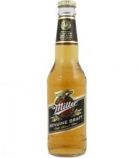 Cerveja Miller Draft Long Neck 355ML no Paraguai