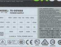 Fonte para PC Corsair CX Series 600W