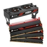 Memória para PC Corsair Dominator GT RAM DDR3 6GB (3x2GB) 1866MHZ Cooler no Paraguai