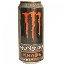 Energético Monster KHAOS 743ML no Paraguai