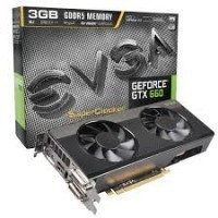 Placa de Vídeo EVGA GeForce GTX660 3GB