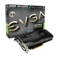 Placa de Vídeo EVGA GeForce GTX660 TI 2GB