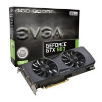 Placa de Vídeo EVGA GeForce GTX980 (256 bits) 4GB