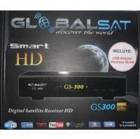 Receptor digital Globalsat GS300 HD