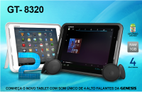 Tablet Genesis GT-9320 8GB no Paraguai