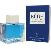 Perfume Antonio Banderas Blue Seduction Masculino 100ML no Paraguai