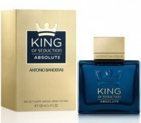 Perfume Antonio Banderas King Of Seduction Absolute Masculino 100ML no Paraguai
