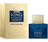 Perfume Antonio Banderas King Of Seduction Absolute Masculino 50ML no Paraguai