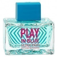 Perfume Antonio Banderas Play In Blue Seduction Feminino 80ML