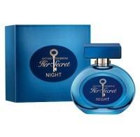 Perfume Antonio Banderas Secret Her Night Feminino 80ML