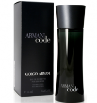 Perfume Giorgio Armani Code Masculino 75ML no Paraguai