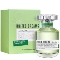 Perfume Benetton United Dreams Live free Feminino 50ML