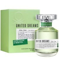 Perfume Benetton United Dreams Live free Feminino 80ML EDP