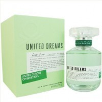 Perfume Benetton United Dreams Live Free Feminino 80ML no Paraguai