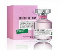 Perfume Benetton United Dreams Love Yourself Feminino 80ML EDP
