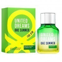 Perfume Benetton United Dreams One Summer Masculino 100ML no Paraguai