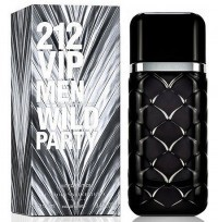 Perfume Carolina Herrera 212 Vip Men Wild Party Masculino 100ML