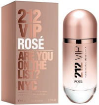 Perfume Carolina Herrera 212 Vip Rose Feminino 80ML