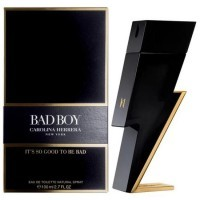 Perfume Carolina Herrera Bad Boy EDT Masculino 100ML no Paraguai