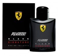 Perfume Ferrari Scuderia Black Signature Masculino 75ML