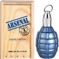 Perfume Gilles Cantuel Arsenal Blue Masculino 100ML no Paraguai