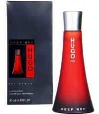 Perfume Hugo Boss Deep Red Feminino 90ML no Paraguai