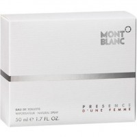 Perfume Mont Blanc Presence D'Une Femme Feminino 50ML